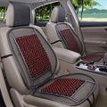 free shipping bamboo wood beads universal car seat cover 1 piece front seat cover