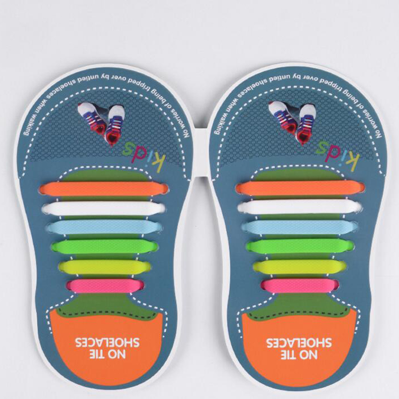 Mr. Niscar 1 Set / 12 Stks Rubber Slip Sneaker Elastische - Schoenaccessoires - Foto 3
