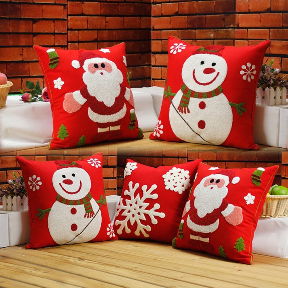Buy Christmas Embroidery Pillow And Get Free Shipping On AliExpress