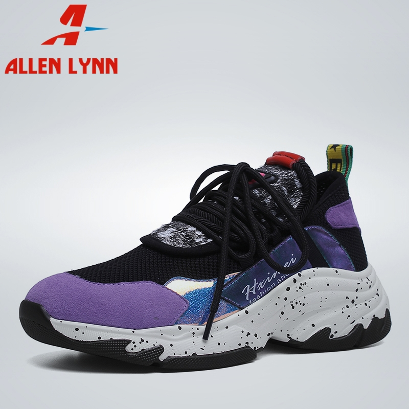 ALLEN 2019 New INS Hot Summer Whole Genuine   Leather     Suede   Sneakers Girl Horsehair Decoration Casual Shoes For Ladies Shoes Woman