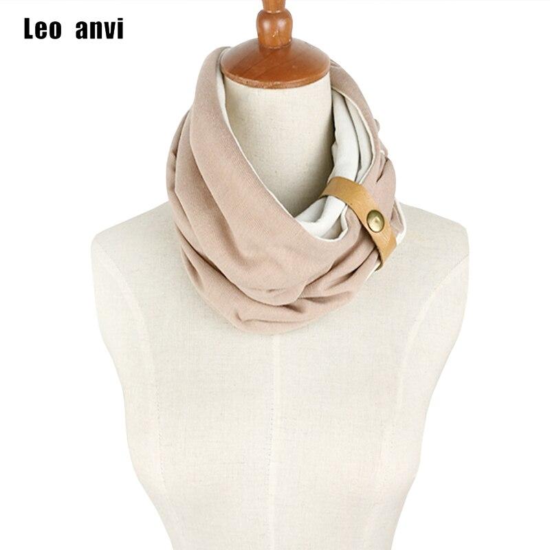 ツ)_/¯Leo anvi diseño Echarpe hiver Femme dos colores algodón sjaal ...