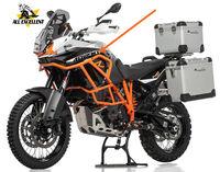 For KTM motorcycle UPPER CRASH BARS orange color Engine Bumper Protector Steel Frame Guard For 1050 1190 ADV Adventure / R