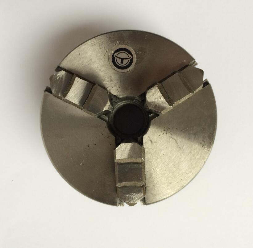 Mini chuck K01-65 M14*1 thread 3 jaw chuck free shipping sanou brand lathe chuck k01 50 mini 3 jaws chuck m14 1