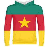 CAMEROON male youth free custom print photo cmr country zipper sweatshirt nation flag cameroun cameroonian french clothes