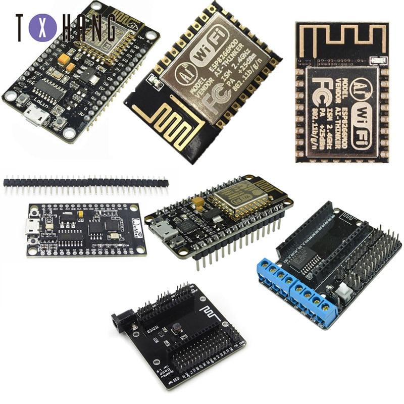 ESP8266 CH340G CH340 G NodeMcu V3 Lua Wireless WIFI Module Connector Development Board CP2102 Based ESP-12E Micro USB ESP32