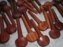 20 PCs Rose wood Violin pegs and 5 PCs End pin Quality Violin parts 4/4