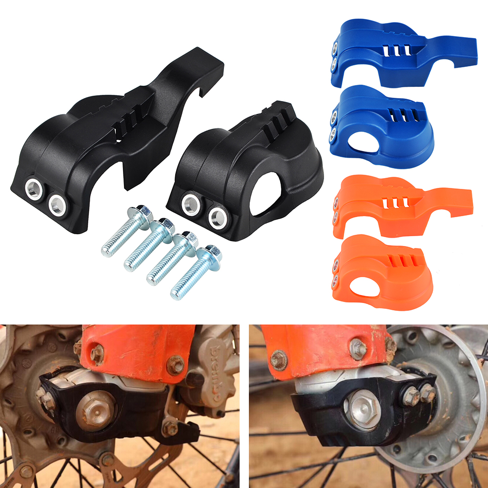 Motorbike Fork Shoe Cover Guard Protection Kit For <font><b>Husqvarna</b></font> FC TC FE <font><b>TE</b></font> FX 125 200 250 <font><b>300</b></font> 350 450 501 2016 2017 2018 <font><b>2019</b></font> 2020 image
