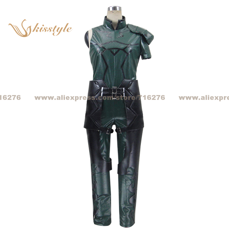 Kisstyle Fashion Fate Zero Fate stay night Lancer Uniform COS Clothing Cosplay Costume,Customized Accepted