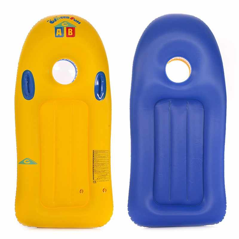Niños de verano tabla de surf inflable al aire libre deportes de surf acuático piscina flotador balsa Junta playa niños deslizamiento Barco de juguete