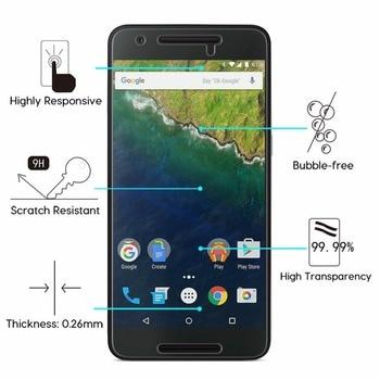 10PCS Screen Protector For Huawei P10 Lite Plus P9 P8 Lite 2017 P6 P7 9H 2.5D 0.26mm Round Edge Premium Tempered Glass Film