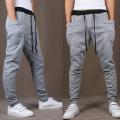 2017 Hot Selling Spring Autumn Solid jogger Pants For Men Casual Slim Mens Harem Pants Joggers (Asian Size)