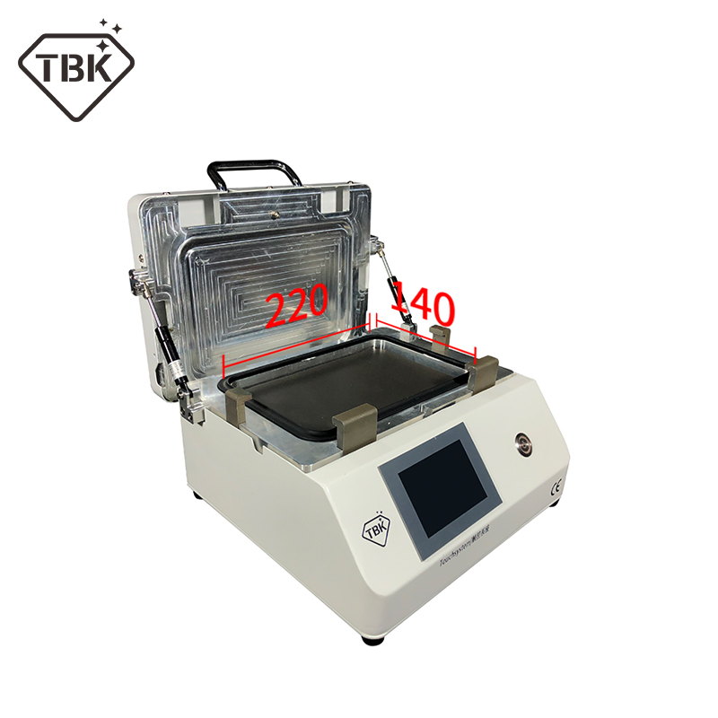 2019 Newest upgrated TBK 808M LCD Touch Screen Repair Automatic Bubble Removing Machine OCA Vacuum Laminating