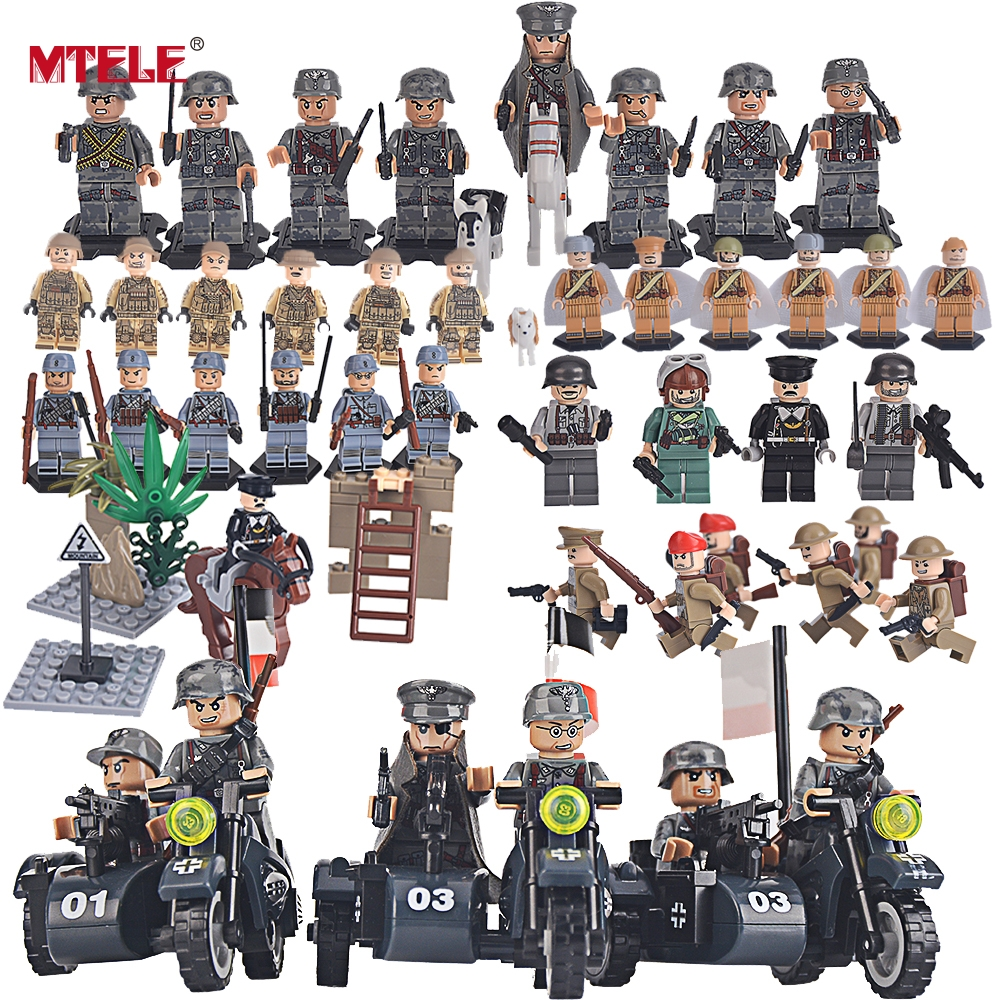 MTELE Brand SWAT Mitary Fifgure Building Blocks Toy Army figures Building Blocks Toys High Quality Compatible with Lego mtele 6729 toy building blocks minifigures gift for kids policeman swat and helicopter building bricks kit assemble set