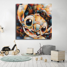 Stitch Of Lilo And Stitch Wall Art HD Canvas Posters Prints Painting Wall Pictures For Living Room Nursery Nordic Home Decor(China)