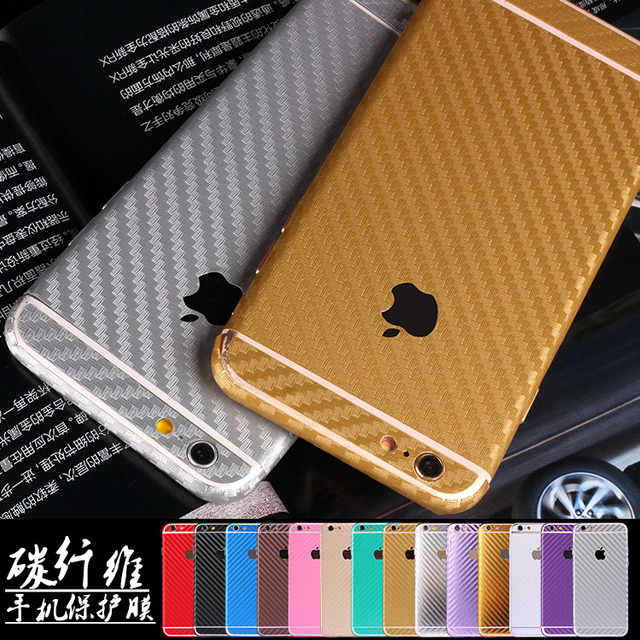 sports shoes b82e5 50ab5 US $2.59 |New For iPhone 6S 6 5S SE Plus Luxury 360 Degree Full Body Decal  Skin Carbon Fiber Film Phone Protective Sticker Wrap Phone Case on ...