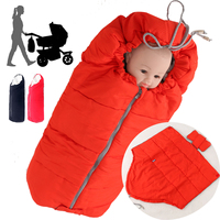 Baby Toddler Footmuff for Stroller Cosy Toes Infant Strollers Sleeping Bag Newborn Sleepsacks Warm Swaddling Blanket Buggy Pram