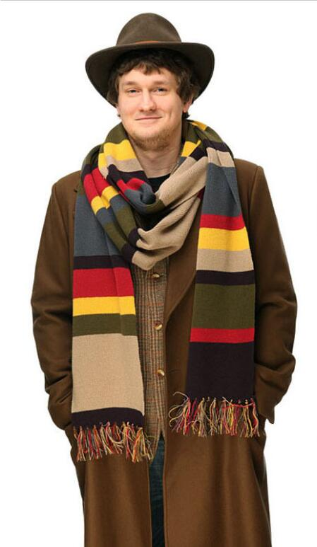 Doctor who cosplay scarf Color scarf 365 ...