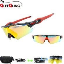 18e9206c71 GLEEGLING Clip Lunettes De Soleil Lunettes pesca gafas De sol polarizadas  UV400 deporte gafas polarizantes 1 Unidades 5 lente