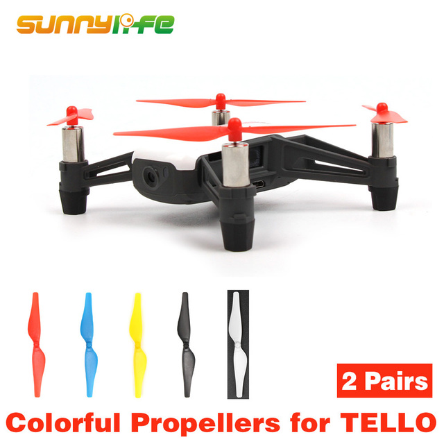 US $1 51 5% OFF|Tello Propellers Quick Release Props for DJI TELLO Blades  Propeller-in Drone Boxes from Consumer Electronics on Aliexpress com |
