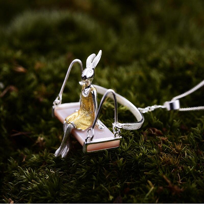 Lotus Fun Echt 925 Sterling Silber Natürliches Perlmutt - Edlen Schmuck - Foto 4