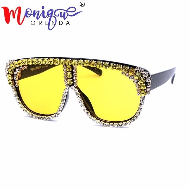 8005f500e3 Gafas de sol de 4 colores de gran tamaño para mujer 2018 gafas de sol de
