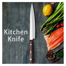 Japanese Kitchen Knife Sashimi Filleting Chef Knife Meat Slicing Fruits Vegetables Cutting Knife Kitchen Tools Raw Fish Cleaver sashimi knife 14 inches