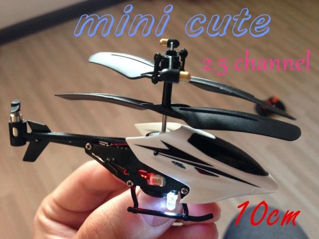 Ceia Mini 2.5CH avião de RC 2.5 canais helicóptero de controle de rádio avião de controle remoto Toy frete grátis