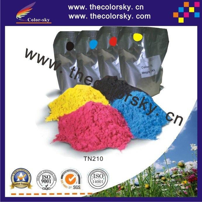 (TPBHM-TN210) premium color laser toner powder for Brother TN 210 230 240 270 290 bk c m y 1kg/bag/color Free fedex