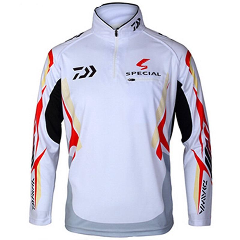 Outdoor sportswear DAIWA Fishing shirt Anti UV protection Hiking Fishing clothes tackles angler sports apparel