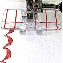 Детали бытовой швейной машины прижимная лапка граница направляющая нога 605 для Janome brother певец Юки и так далее