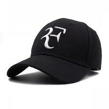 2019 Tennis Star Roger Federer Dad Hat Sport baseball cap cotton 3D  embroidery Unisex Snapback caps f9e3bf02541