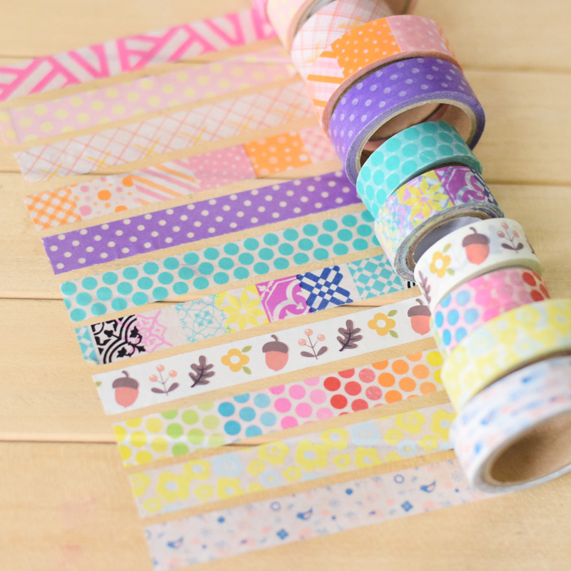 Boxed 1roll 25mm 10m High Quality Cat Pattern Anese Washi Decorative Adhesive Tape Diy