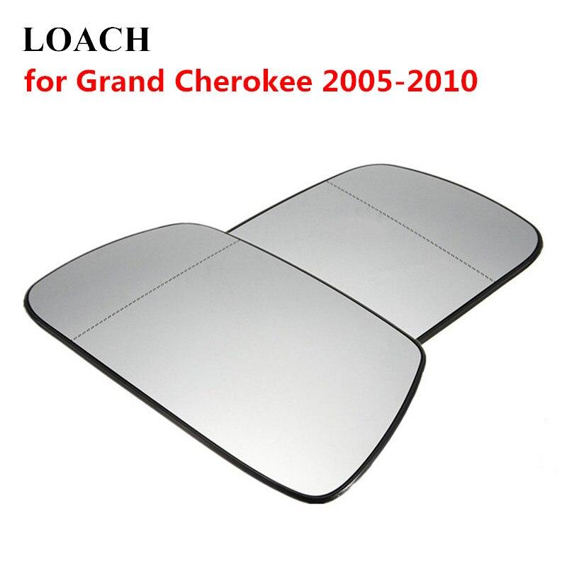 LEFT PASSENGER SIDE MIRROR GLASS FOR JEEP GRAND CHEROKEE 2005-2010
