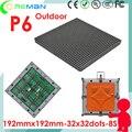 Открытый smd rgb гибкие светодиодные табло модуль p6/передняя обслуживание фронтальный доступ светодиодный модуль панели rgb p3 p4 p5 p6 открытый