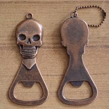 Loriver Metallic Lustre Creative Zinc Alloy Retro Skull