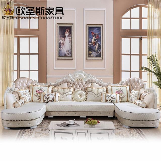 Di lusso a forma di U soggiorno componibile furniutre Antico Europe ...