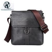 New PU Leather Messenger Bags Men Travel Business Crossbody Shoulder Bag for Man Brown Sacoche Homme