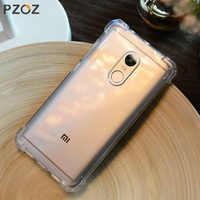 PZOZ Slim Shockproof Phone Protection Case Xiaomi Redmi Note 4 / Note 4X Case Luxury Original Perfect Cover Shell Redmi Note4