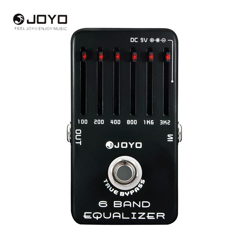 joyo jf 11 6 bands eq equalizer electric guitar pedal effect true bypass musical instrument. Black Bedroom Furniture Sets. Home Design Ideas