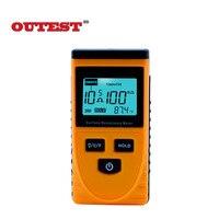 Outest gm3110 Портативный ЖК-дисплей поверхности дисплея Измеритель сопротивления с данные функции проведения 10 ^ (3) -10 ^ (12) Ом
