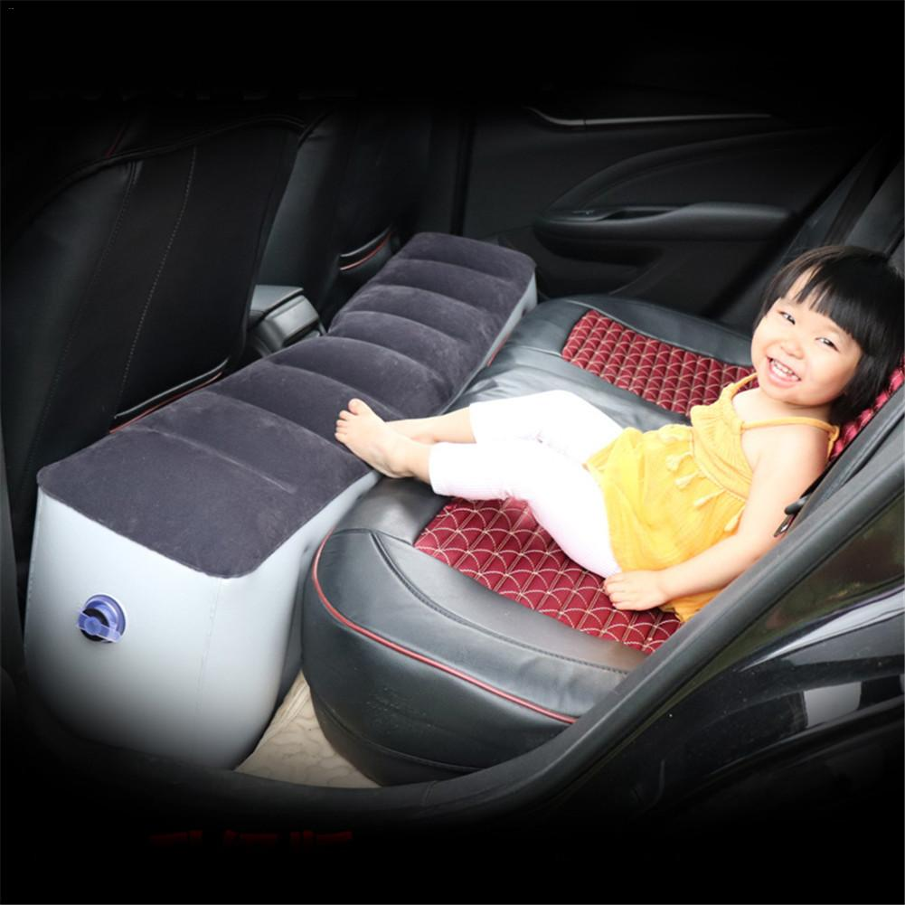 Car Mattress Inflatable Back Seat Gap Pad Air Bed Cushion For Car Travel Camping Car Travel Bed Accessories