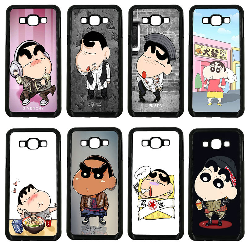 Cell Phone Cases Cool Crayon Shin Chan Hard Plastic Cover