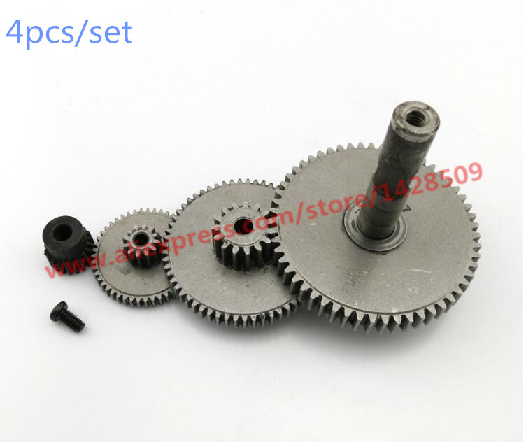 4 pcs lot  Alloy Steel Reduction Gears Modulus Gear DIY Micro Motor Transmission Parts Gear Box Mating Parts