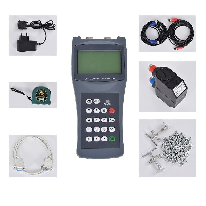 TDS-100H De Poche débitmètre À Ultrasons M2 (50-700mm) avec CD débitmètre d'eau 100-240 v Portable De Poche à ultrasons débitmètre