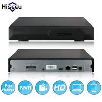 Hiseeu Full HD CCTV 4CH NVR Pour fisheye P2 Caméra VGA sortie HDMI H.264 Réseau Enregistreur Vidéo Onvif P2P Numérique enregistreur vidéo