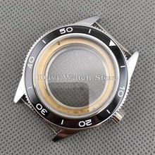 Ajuste ETA 2836 Miyota 8205/8215 DG 2813/3804 41mm cerámica Bzele caja de reloj de acero