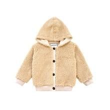 Для новорожденных Зимние куртки для мальчиков мягкий флис пальто хаки Армейский зеленый верхняя одежда с капюшоном теплая одежда для малышей куртка для Одежда для мальчиков