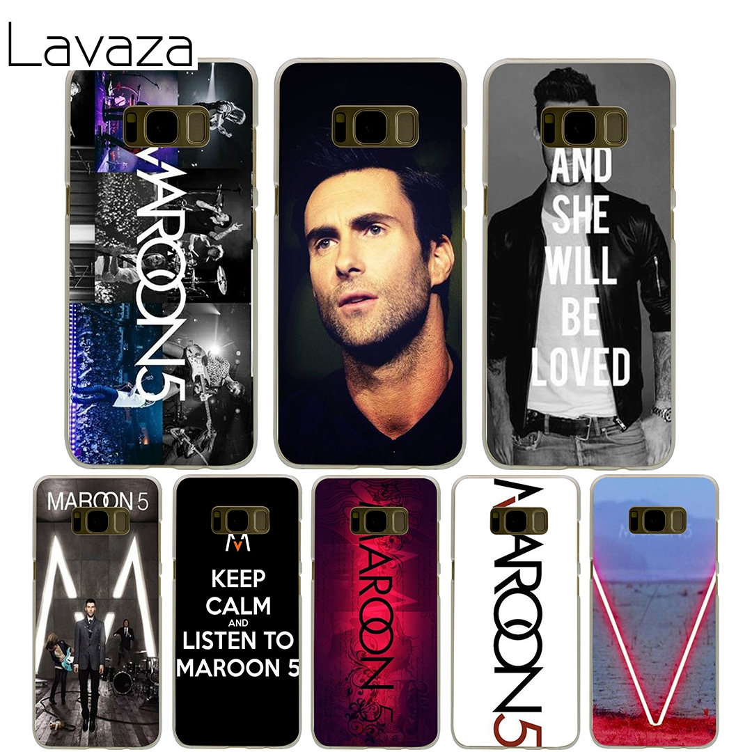 Lavaza maroon 5 Cover Case for Samsung Galaxy S7 Edge S6 S8 S9 Edge Plus S5 S4 S3 Mini S2 Cases Shell
