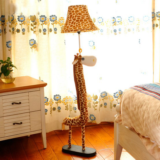 Kids Room Floor Lamp: Cartoon Floor Lamp For Living Room Decoration Lighting