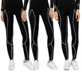 Full 3D Print Women Long Pants Compression Quick Dry Female's Tight Slim Trousers Pants